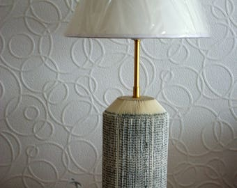 Table lamp: old book recycled No. 12