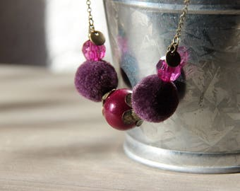 Purple necklace • CORA • color