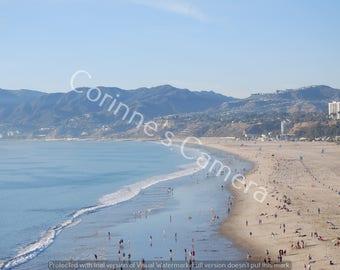 Beach View 2 Blank Greeting Card