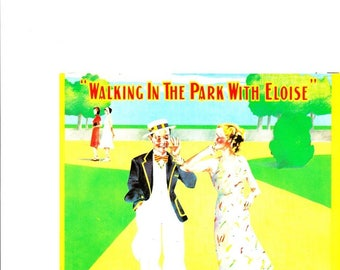 Paul McCartney & The Country Hams: Walking in the Park With Eloise 7 Inch Vinyl Record in Mint Condition