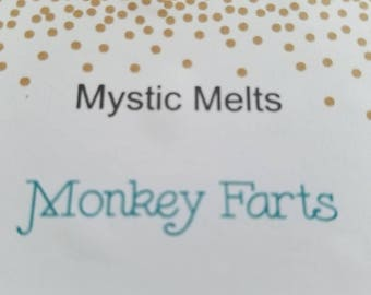 Monkey Farts soy wax melt