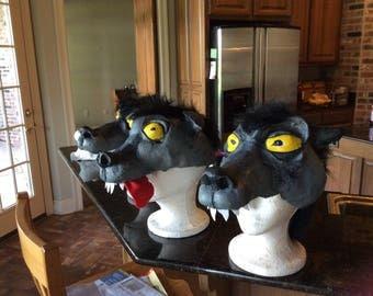 Hyena Hood Masks