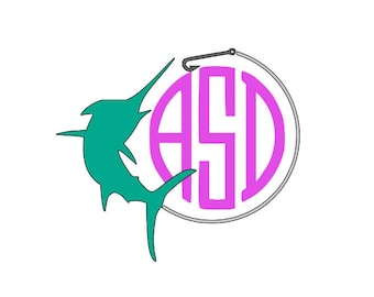 Marlin Monogram Decal