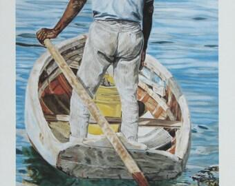 Reflections -  Bahamian art print by Roshanne Minnis-Eyma