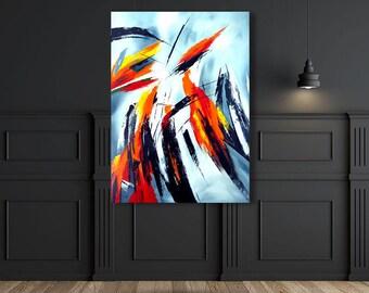The Top Of Desires Original Oil Painting by Eder Manero