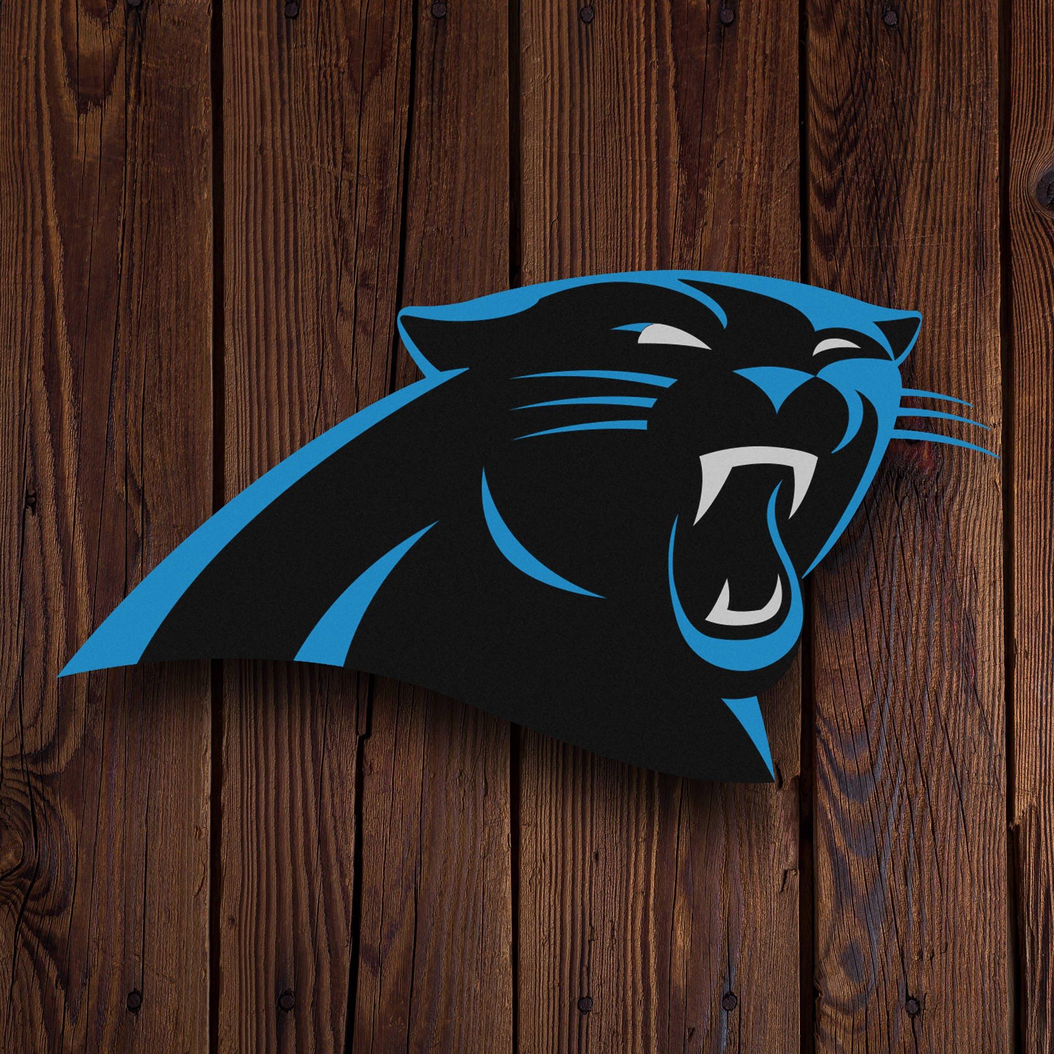Carolina Panthers Decor|Wall Decor|Boy Room Decor|Boy Football Decor|Teen