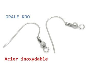 supports 6 stainless steel earrings