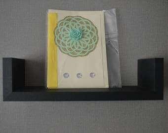 Flower Embellished Card