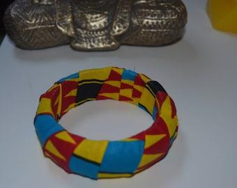 Bracelet wax fabric