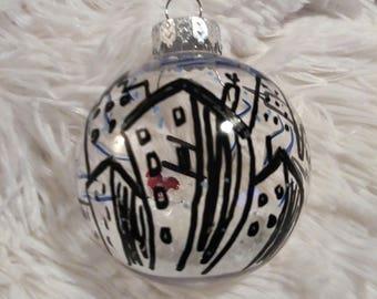 I Love NY Christmas Ball