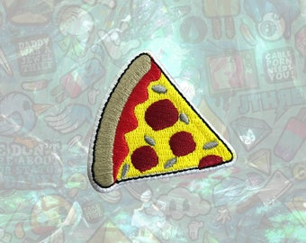 Pizza Patch Food Cute Patch Iron on Patch Sew On Patches