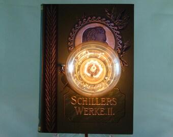 """Book lamp """"SchilIer II"""""""