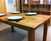 Dining Table in Recycled ...