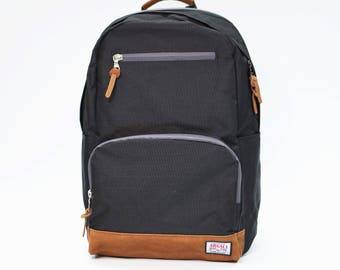 Fossa Backpack BLACK, Backpack Men, Nylon Backpack, Backpack laptop, Large volume backpack