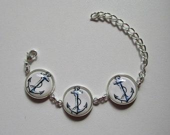 beautiful bracelet anchors
