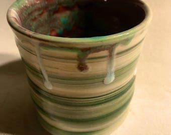 Mug handmade no handle