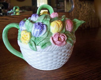 Flower Tea Pot