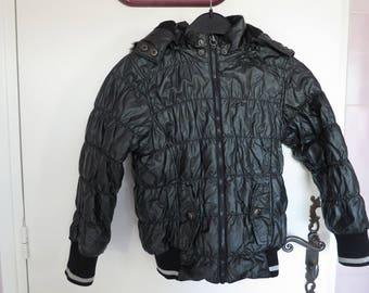 1874: coat - jacket Black 8 years Tcf Ebondy