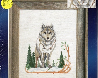 Wolf Designs For The Needle Counted Cross Stitch Kit