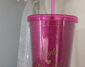 Personalised straw cup