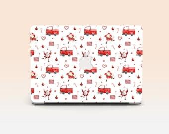 Santa Claus Case Macbook Pro Case Christmas Laptop Case Macbook Hard Case Christmas Macbook Air Macbook Air 13 Christmas Skin Christmas Gift