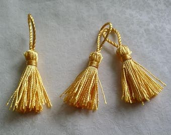 Deco unity, yellow tassel