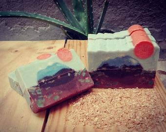SOAP landscape mountain Landscape Soap: Mountain