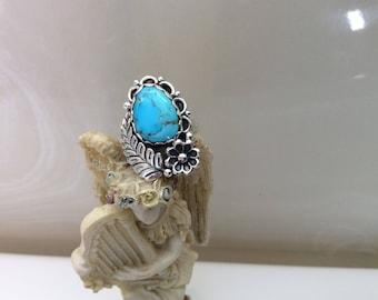 Sleeping beauty turquoise ring size 9