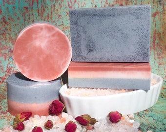 Charcoal & Rose Clay Spa Bar