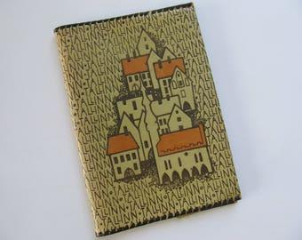 Vintage Book Cover TALLINN from Soviet era