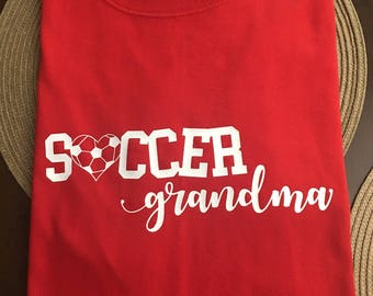 Soccer Grandma Tee Shirt