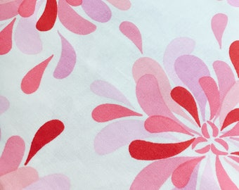 Sandi Henderson for Michael Miller Fabrics, Farmers Market, Petal Party in pink. Sold by the FQ.