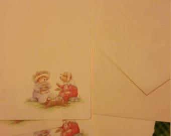 Vintage Stationery Collection ~ Bear Tea Party Stationery Collection - Mary Hamilton? ?