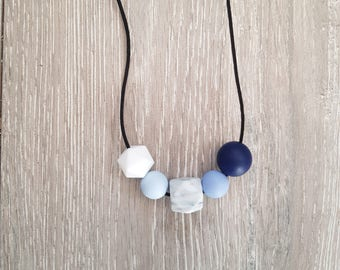 Blue // Teething Necklace
