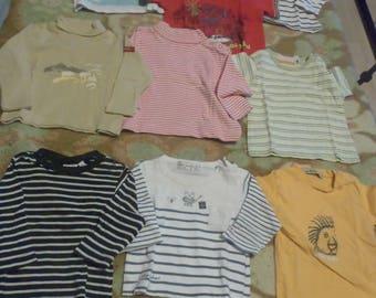 Lot 9 shirts boy 6 months