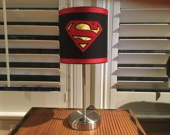 Superman accent lamp