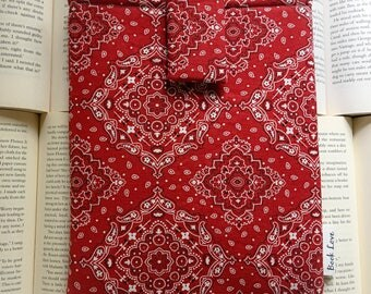 Bandanna Book Love Sleeve
