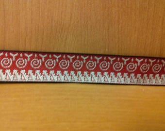 Fancy 100% polyester 17mm Ribbon