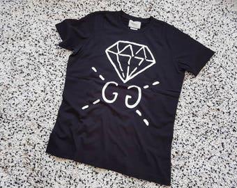 Men's new t-shirt poloshirt Gucci black color all sizes