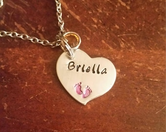 New baby necklace