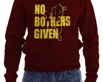 No Bothers Given - Winnie the Pooh,Disney Hoodie, Zero Bothers Given