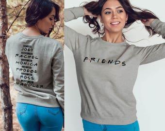 Custom Friends TV show t-shirt friends Sweatshirt #J