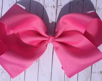 Pink Large JoJo Style Hair Bow