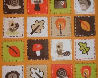 089 autumn napkin