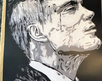 Peaky blinder tommy Shelby  a3 print