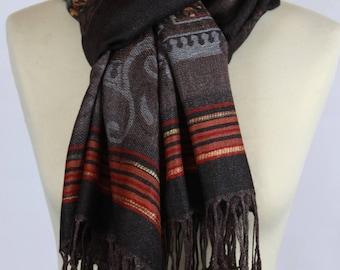 Ethnic cotton scarf
