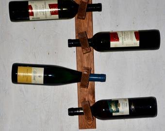 Wooden Wine Rack by WoodStoff