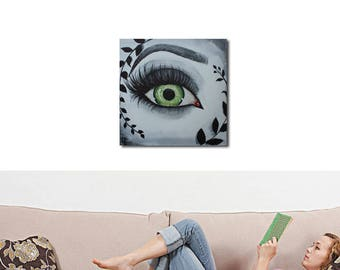 Table decorative look, eye make-up