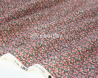 LIBERTY Pepper x50cm red corduroy fabric