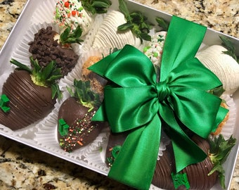 LOCAL ONLY, Chocolate  Covered Strawberries, Chocolate Dipped Strawberries (Seasonal)